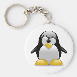 Tux Key Ring