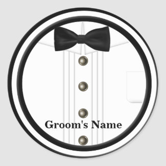 Tux Wedding  Stickers