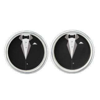 Tuxedo Art Cuff links