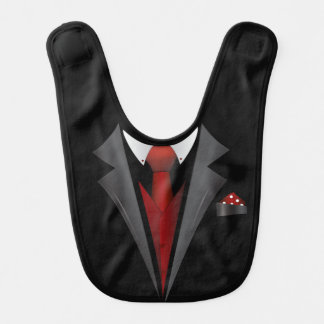 Tuxedo/Bad to the Bone Bib