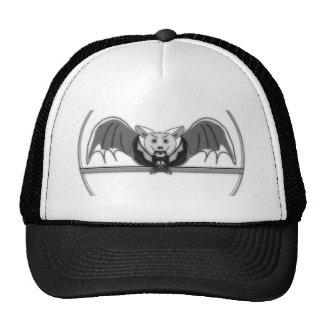 Tuxedo bat mesh hats