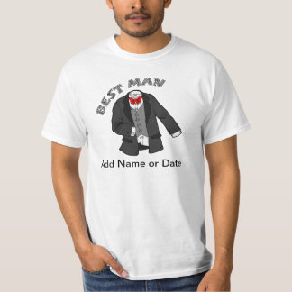 Tuxedo Best Man T-Shirt