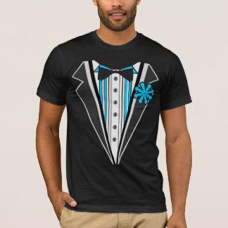Tuxedo Blue Stripes T-Shirt