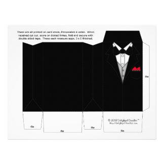 Tuxedo Box Party Favor boxes. Wedding Favors 21.5 Cm X 28 Cm Flyer