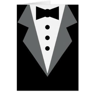 Tuxedo Card