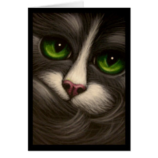 TUXEDO CAT CUSTOMIZE Card