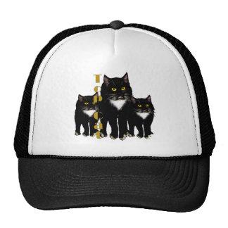Tuxedo Cat gifts greetings Trucker Hat
