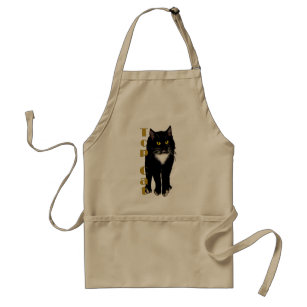 Tuxedo Cat gifts & greetings Standard Apron