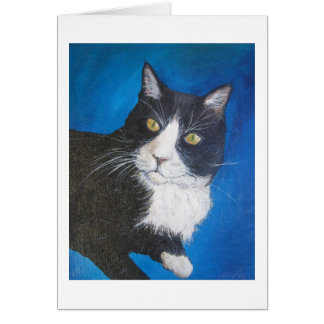 Tuxedo Cat Greeting Card or Note Cards