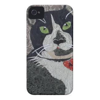 Tuxedo Cat iPhone 4 Case