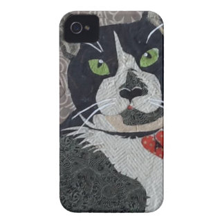 Tuxedo Cat iPhone 4 Case-Mate Case