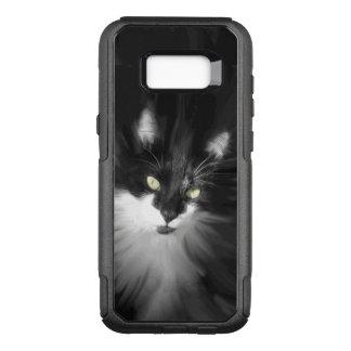 Tuxedo Cat OtterBox Commuter Samsung Galaxy S8+ Case