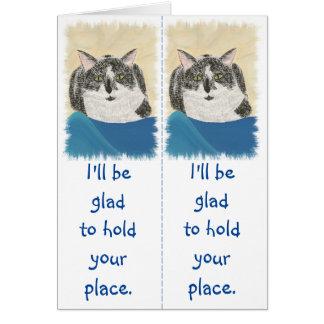 Tuxedo Cats Bookmark Reader Gift Cards