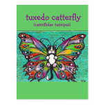 Tuxedo Catterfly Cat/Butterfly Whimsical Fantasy!