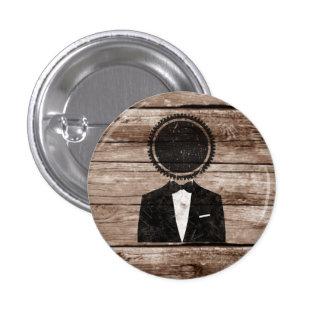 Tuxedo gear head button