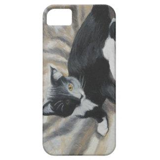 Tuxedo Kitten iPhone 5 Cases