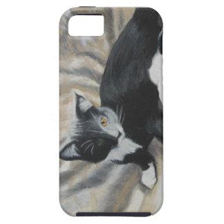 Tuxedo Kitten iPhone 5 Cover