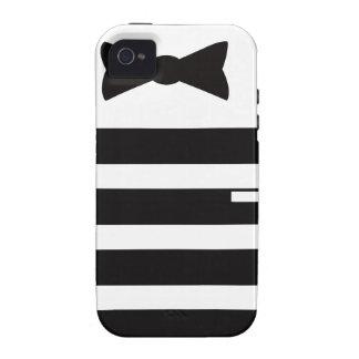 Tuxedo Man Multiple Gites Selected iPhone 4 Cases