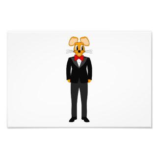 Tuxedo mouse cartoon photographic print