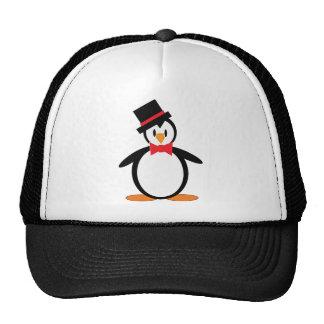 Tuxedo-Pengo Mesh Hat
