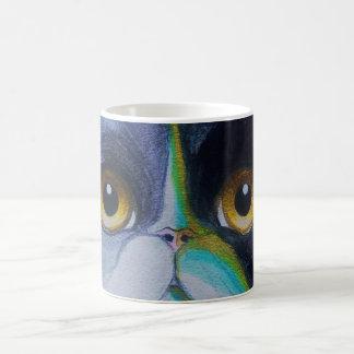 TUXEDO PERSIAN CAT EYES Mug