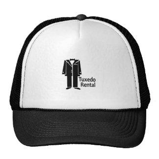 TUXEDO RENTAL TRUCKER HAT