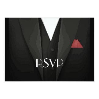 Tuxedo RSVP Card