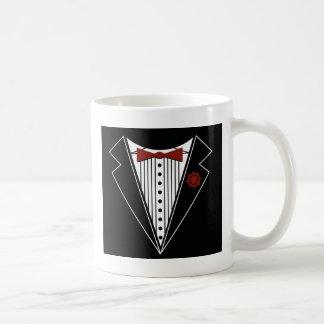 Tuxedo Tshirt Coffee Mugs