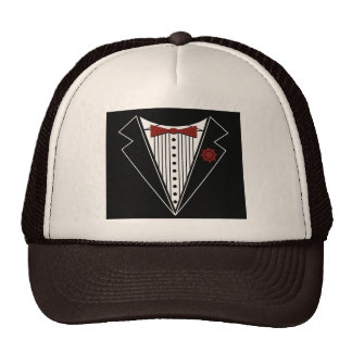 Tuxedo Tshirt Mesh Hat