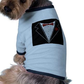Tuxedo Tshirt Ringer Dog Shirt