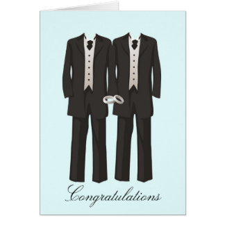 Tuxedos Greeting Card