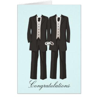 Tuxedos Greeting Card