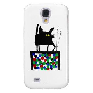 TV Cat Samsung Galaxy S4 Case