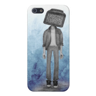TV Head Phone Case iPhone 5 Cases