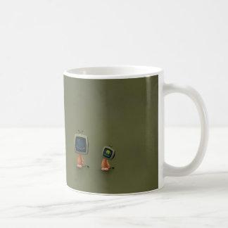 TV Heads Basic White Mug