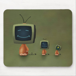 TV Heads Mouse Pad