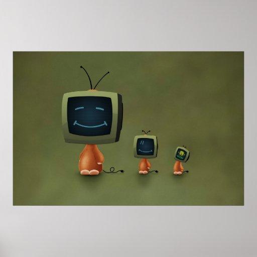TV Heads Print