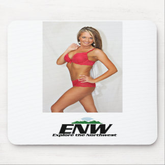 TV Host Dawn Mouse Pad