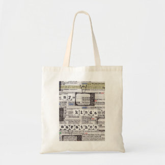 TV Marathon Lover Tote