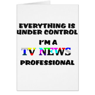 TV PRO GREETING CARD