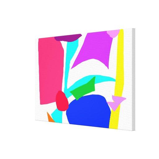 TV Radio Newspaper Magazines Internet Dishwasher Stretched Canvas Prints
