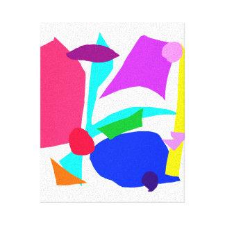 TV Radio Newspaper Magazines Internet Dishwasher Gallery Wrap Canvas