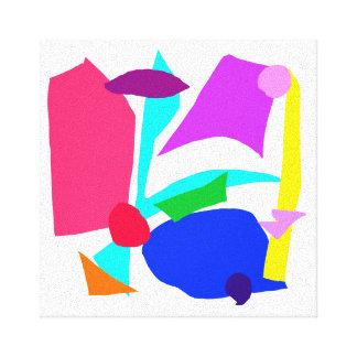 TV Radio Newspaper Magazines Internet Dishwasher Gallery Wrapped Canvas