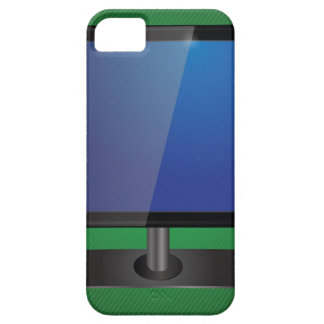 tv screen barely there iPhone 5 case