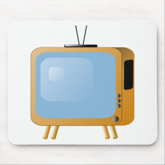 TV Set Mouse Pad