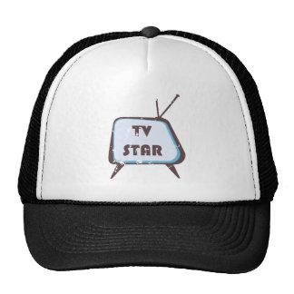 TV Star Retro television set Cap