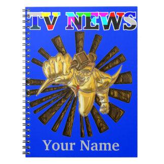 TV Superhero Spiral Notebook