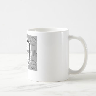TV Test Pattern Coffee Mug