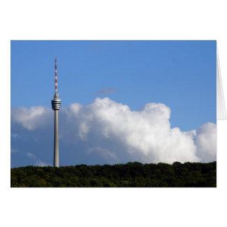 TV tower Stuttgart Card