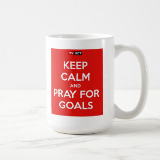 TVbet 'Pray For Goals' Mug